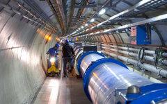 Большой адронный коллайдер. Фото с сайта home.web.cern.ch