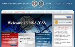 Скриншот сайта АНБ nsa.gov