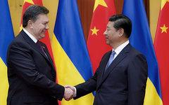 Виктор Янукович и Си Цзиньпин © РИА Новости, Михаил Маркив