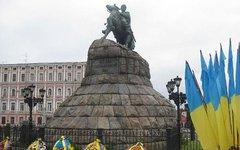 Памятник Богдану Хмельницкому в Киеве. Фото с сайта wikipedia.org
