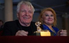 Юрий Назаров на кинофестивале. Фото Дмитрия Коробейникова