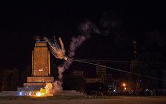 Снонс памятника Ленину в Харькове © РИА Новости, Игорь Чекачков