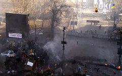 Кадр трансляции ukrstream.tv из Киева