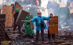 Сторонники оппозиции на Майдане © РИА Новости, Андрей Стенин