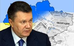 Виктор Янукович. Коллаж © KM.RU