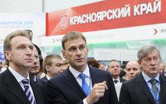 Игорь Шувалов (слева). Фото с сайта krasnoforum.ru