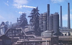 Магнитогорский металлургический комбинат © РИА Новости, Валерий Шустов