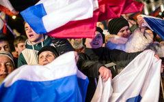 Жители Севастополя после проведения референдума © РИА Новости, Андрей Стенин