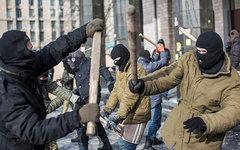 Бойцы «Правого сектора» © РИА Новости, Андрей Стенин