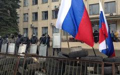 Сторонники федерализации Украины в Донецкой области © РИА Новости