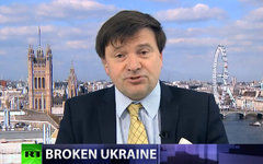 Нил Кларк. Кадр телеканала Russia Today