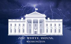 Белый дом в Вашингтоне. Коллаж © KM.RU
