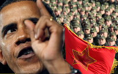 Барак Обама. Коллаж © KM.RU