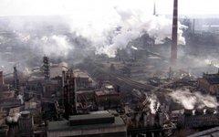 Донецкий металлургический завод. Фото с сайта wikipedia.org