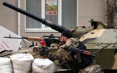 Народное ополчение Славянска. Фото пользователя Instagram sashakots