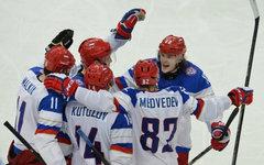 Игроки сборной России © РИА Новости, Алексей Куденко