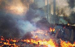Киев после февральских беспорядков. Фото пользователя Instagram alexmelnik