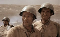 Кадр из фильма «Они сражались за Родину»