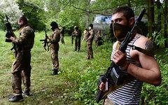 Бойцы батальона «Восток» в Донецкой области © РИА Новости, Максим Блинов