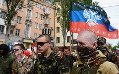 Сторонники ДНР © РИА Новости, Наталья Селиверстова