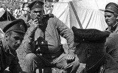 Боевые офицеры русской армии. Реконструкция Первой мировой войны © KM.RU, Алексе