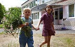 Дети, эвакуированные из Луганской области © РИА Новости, Сергей Козлов