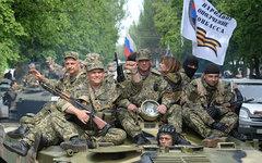 Бойцы народного ополчения Донбасса © РИА Новости, Михаил Воскресенский