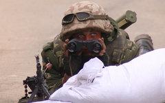 Украинский военный. Фото из Instagram sashakots