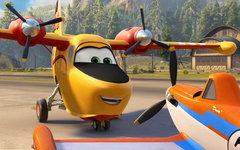 Кадр из мультфильма «Самолеты: Огонь и вода»