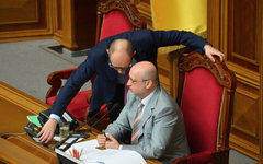 Арсений Яценюк и Александр Турчинов © РИА Новости, Евгений Котенко