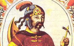 Рюрик (миниатюра из «Царского титулярника», 17 век) Фото с сайта varvar.ru