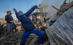 Сторонники оппозиции на площади Независимости в Киев© РИА Новости, Андрей Стенин