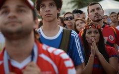Болельщики сборной Коста-Рики © РИА Новости, Алексей Филиппов