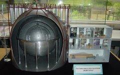 Модель эксперимента Борексино. Фото с сайта borex.lngs.infn.it