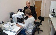 Николай Пименов с научным сотрудником Екатериной Меько. Фото с сайта strf.ru