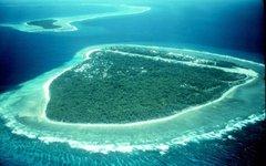 Один из островков атолла Яп. Фото с сайта wikimedia.org
