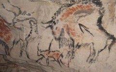 Наскальные рисунки Каповой пещеры. Фото с сайта msu.ru