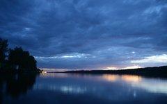 Закат солнца над Волгой в Плесе © РИА Новости, Екатерина Чеснокова