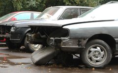 Автомобили к утилизации © KM.RU, Илья Шабардин