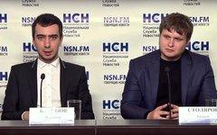 Владимир Краснов и Алексей Столяров. Фото предоставлено пресс-службой РСН
