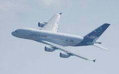 Самолет Airbus A380 © KM.RU, Кирилл Зыков