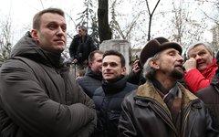 Алексей Навальный и Илья Яшин © KM.RU, Алексей Белкин