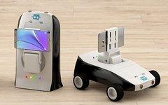 Робот-учитель (мобиробот) ТПУ. Фото с сайта tpu.ru