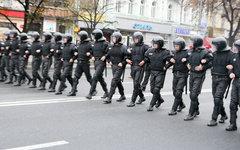 Украинская полиция © KM.RU, Игорь Варнавский