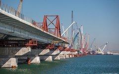 Строительство Крымского моста. Фото с сайта most.life