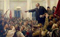 Картина «Ленин провозглашает советскую власть»