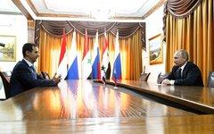 Встреча Владимира Путина с Башаром Асадом. Фото с сайта kremlin.ru
