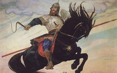 «Богатырский скок». Виктор Васнецов. 1914. Фото с сайта wikimedia.org
