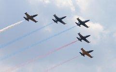 Полет пилотажной группы «Русь» © KM.RU, Илья Шабардин