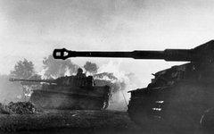 Немецкий танк «Тигр» в Курской битве. Фото с сайта wikimedia.org